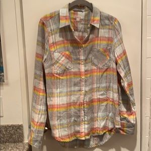 Merona nwot button down flannel shirt size S